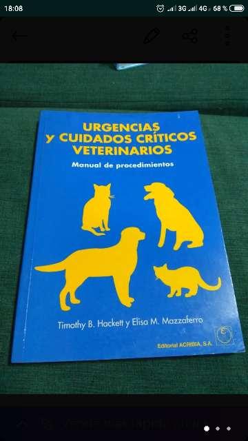 Imagen libro veterinaria Urgencias