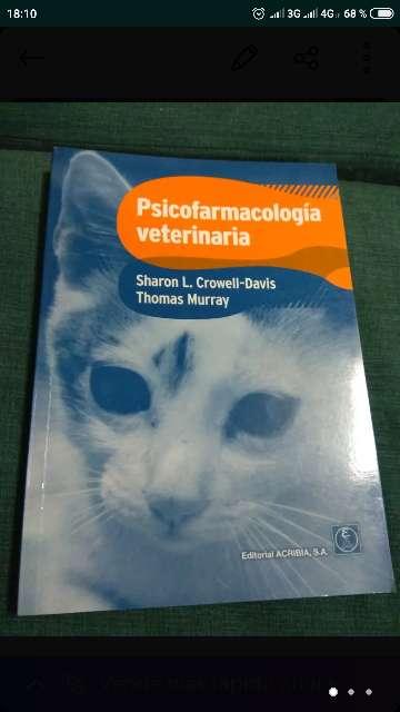 Imagen libro Psicofarmacología veterinaria