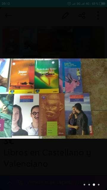 Imagen producto Libros en Castellano y Valenciano 2