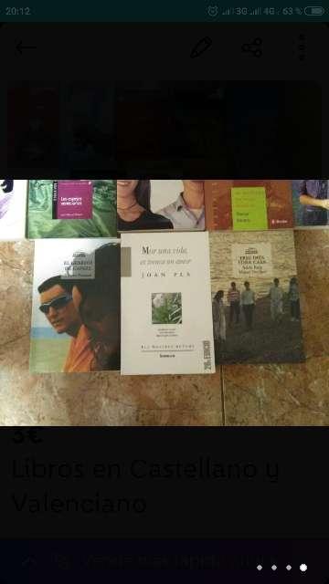 Imagen producto Libros en Castellano y Valenciano 3