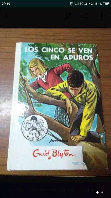Imagen producto Libro LOS CINCO SE VEN EN APUROS 2