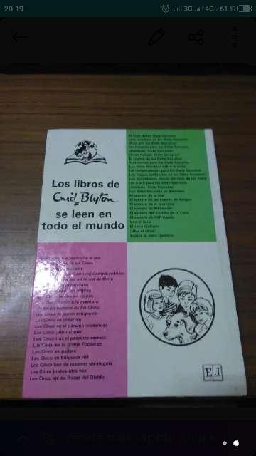 Imagen Libro LOS CINCO SE VEN EN APUROS