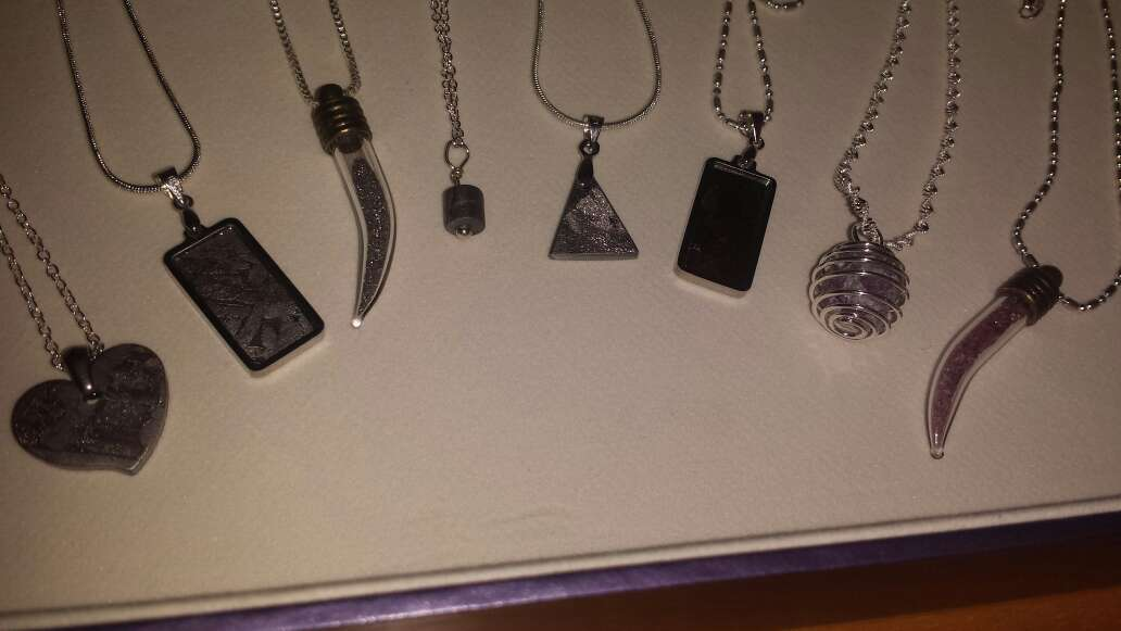 Imagen producto Lote 9 piezas de joyería plata, meteorito  3
