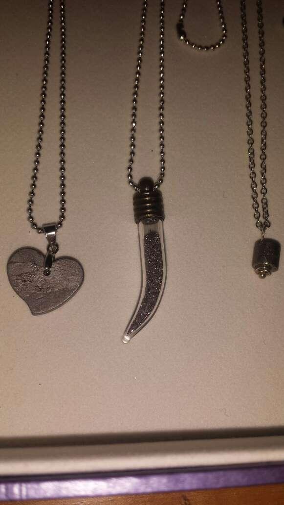 Imagen producto Lote 9 piezas de joyería plata, meteorito  9