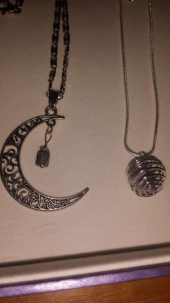 Imagen producto Lote 9 piezas de joyería plata, meteorito  10