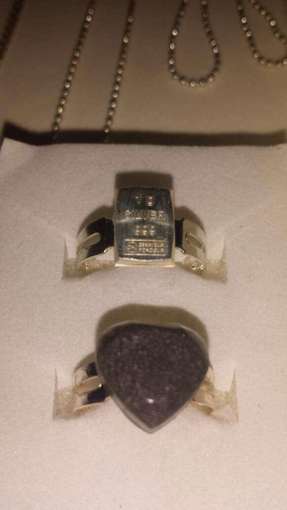 Imagen producto Plata y meteorito joyería variada  9
