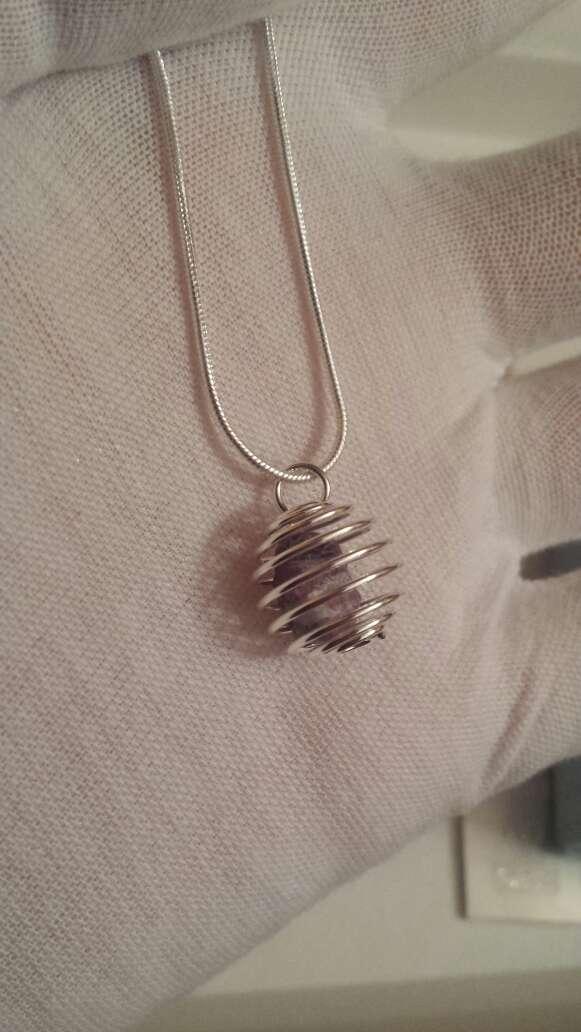 Imagen producto Anillos y colgantes meteorito y plata  3