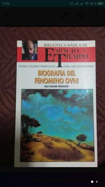 Imagen Biografía del fenómeno ovni