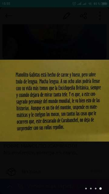 Imagen producto Manolito Gafotas 4