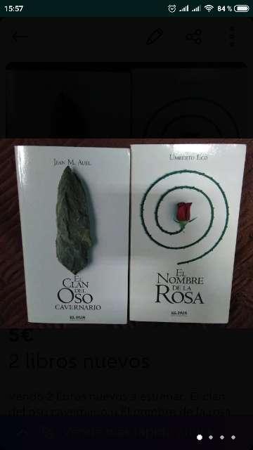 Imagen 2 libros nuevos