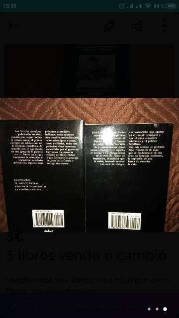 Imagen producto 3 libros vendo o cambió 3
