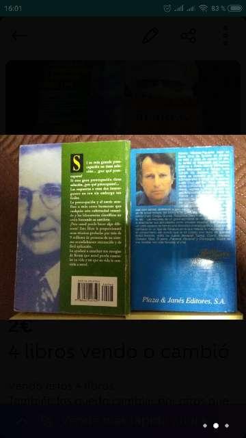 Imagen producto 4 libros vendo o cambió 3