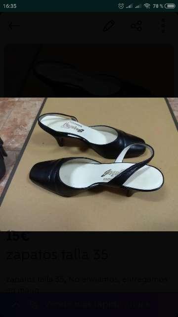 Imagen zapatos talla 35