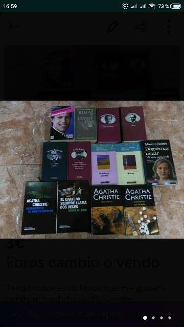 Imagen producto Libros cambio o vendo...  2