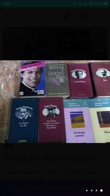 Imagen producto Libros cambio o vendo...  4
