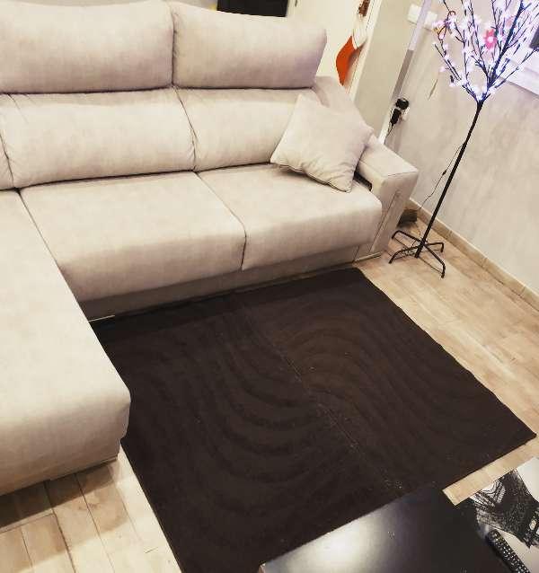 Imagen producto 2 Alfombras marrón marca Meradiso 1