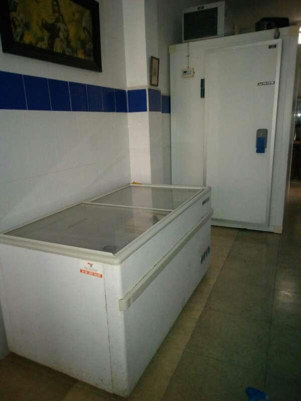 Imagen producto Cámara frigorífica, báscula, y congelador. 9