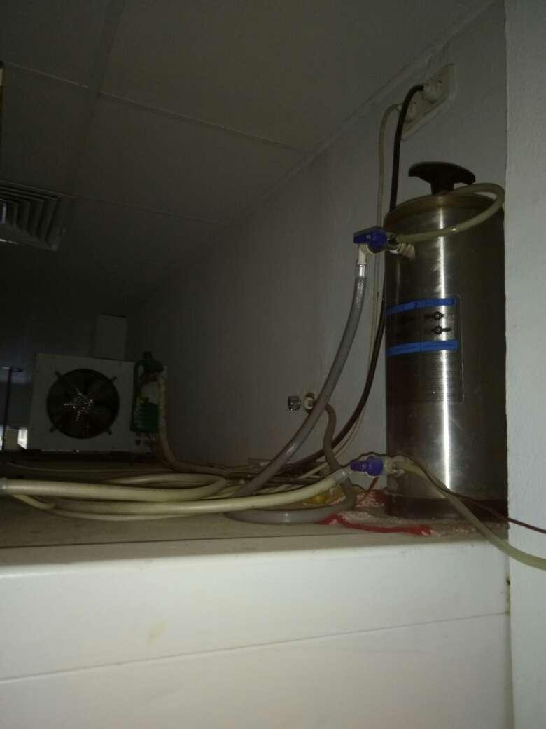 Imagen producto Cámara frigorífica, báscula, y congelador. 2