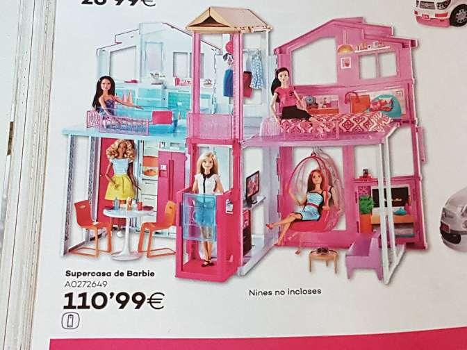 Imagen Casa grande Barbie