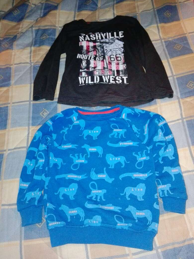 Imagen ropa niño de 1 a 3 años