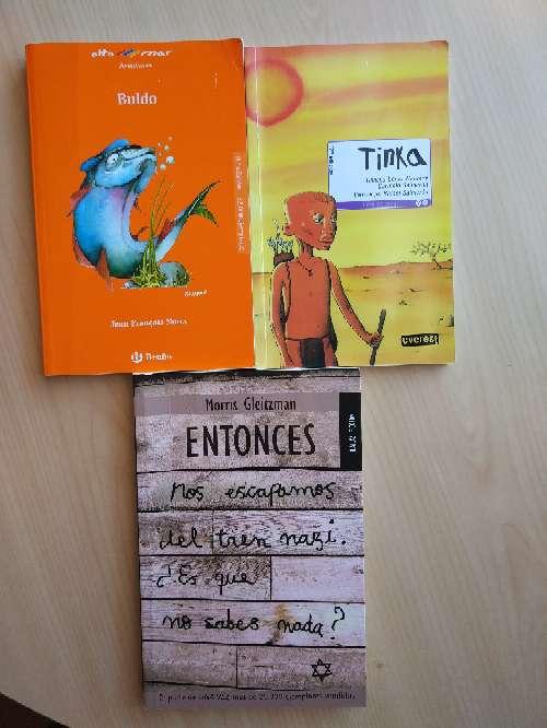 Imagen Lote 3 libros