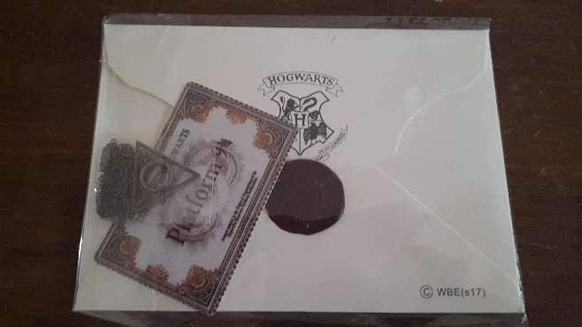 Imagen producto Carta Harry Potter Hogwarts y Personalizada  8