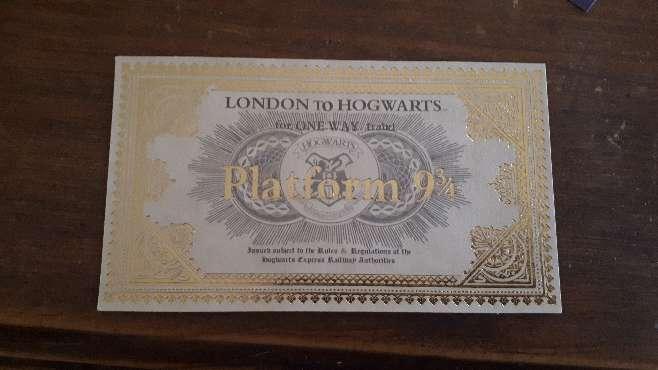 Imagen producto Carta Harry Potter Hogwarts y Personalizada  3