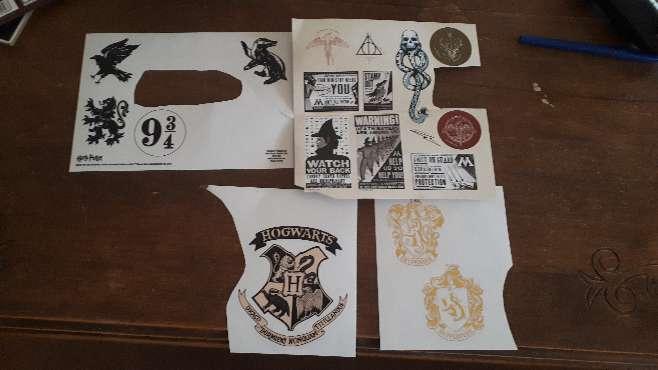 Imagen producto Carta Harry Potter Hogwarts y Personalizada  6