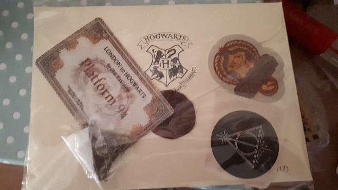 Imagen producto Carta Harry Potter Hogwarts y Personalizada  5