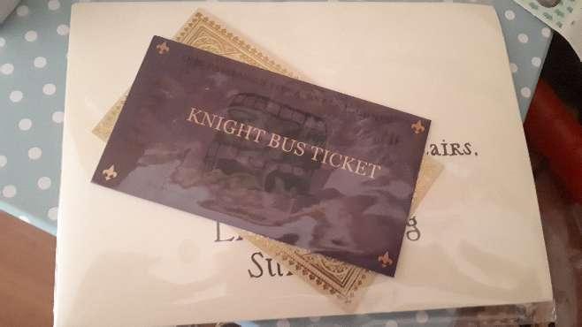 Imagen producto Carta Harry Potter Hogwarts y Personalizada  7
