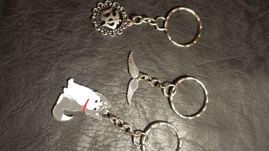Imagen producto Lote 12 llaveros 5 piezas  3