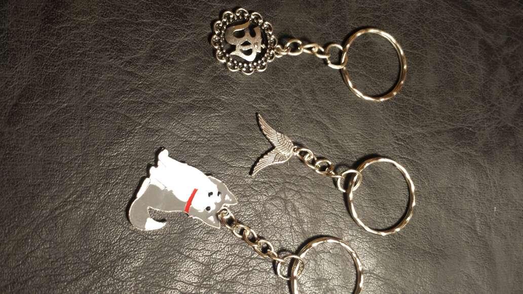 Imagen producto Lote 12 llaveros 5 piezas  4
