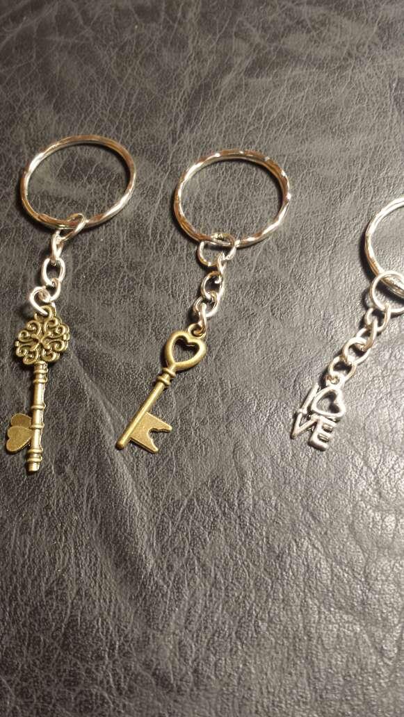 Imagen producto Lote N 14 llaveros 5 piezas  3