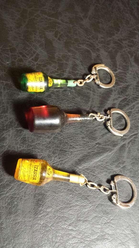 Imagen producto 3 llaveros botellas antiguas  2