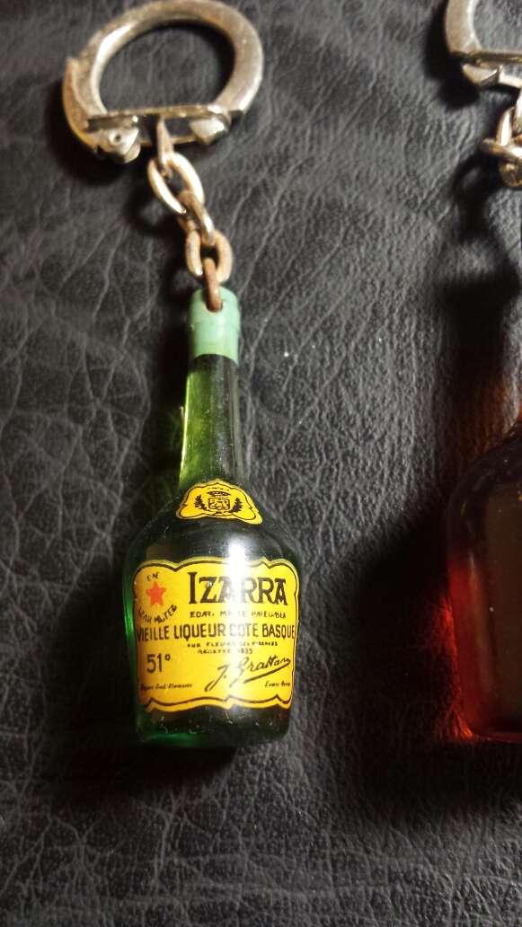 Imagen producto 3 llaveros botellas antiguas  3