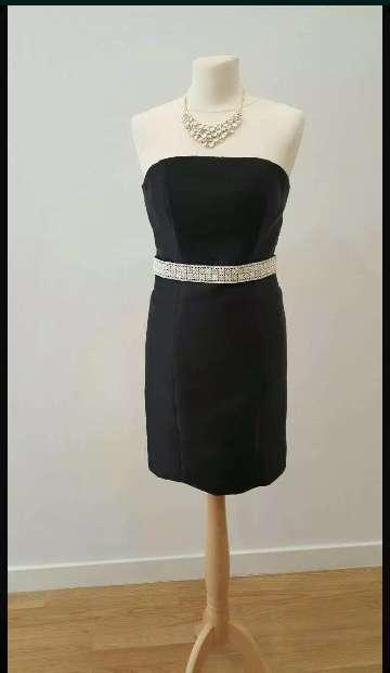 Imagen producto Vestido fiesta negro nuevo 1