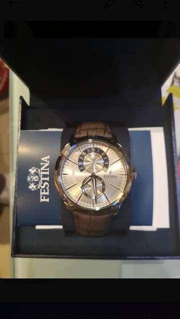 Imagen Reloj Festina de caballero, precio negociable