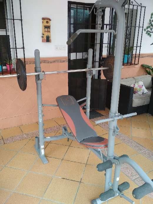 Imagen producto Máquinas, pesas y barras gimnasio 5