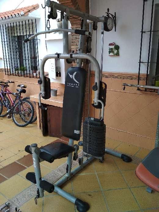 Imagen producto Máquinas, pesas y barras gimnasio 2