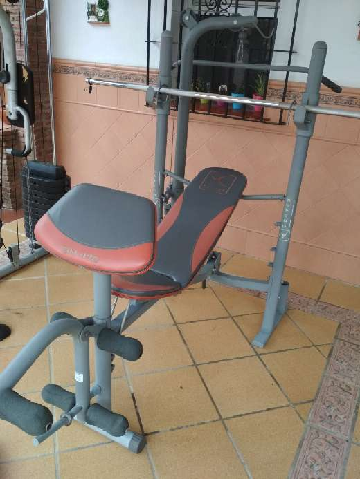 Imagen producto Máquinas, pesas y barras gimnasio 4