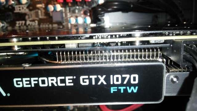 Imagen Tarjeta gráfica EVGA GTX 1070 FTW 8 GB