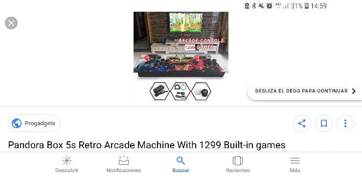 Imagen producto Máquina recreativa arcade  5
