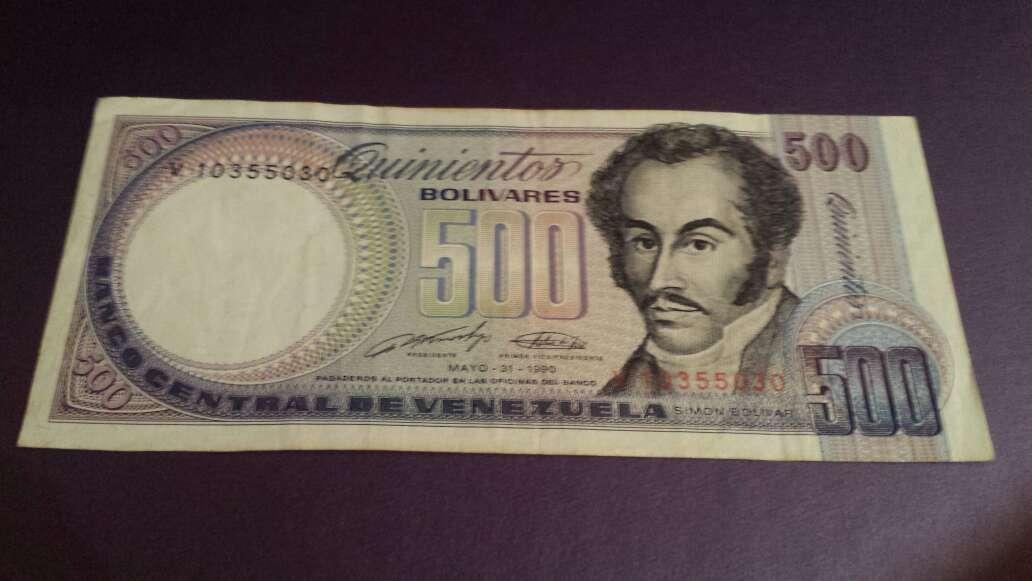 Imagen 500 bolívares