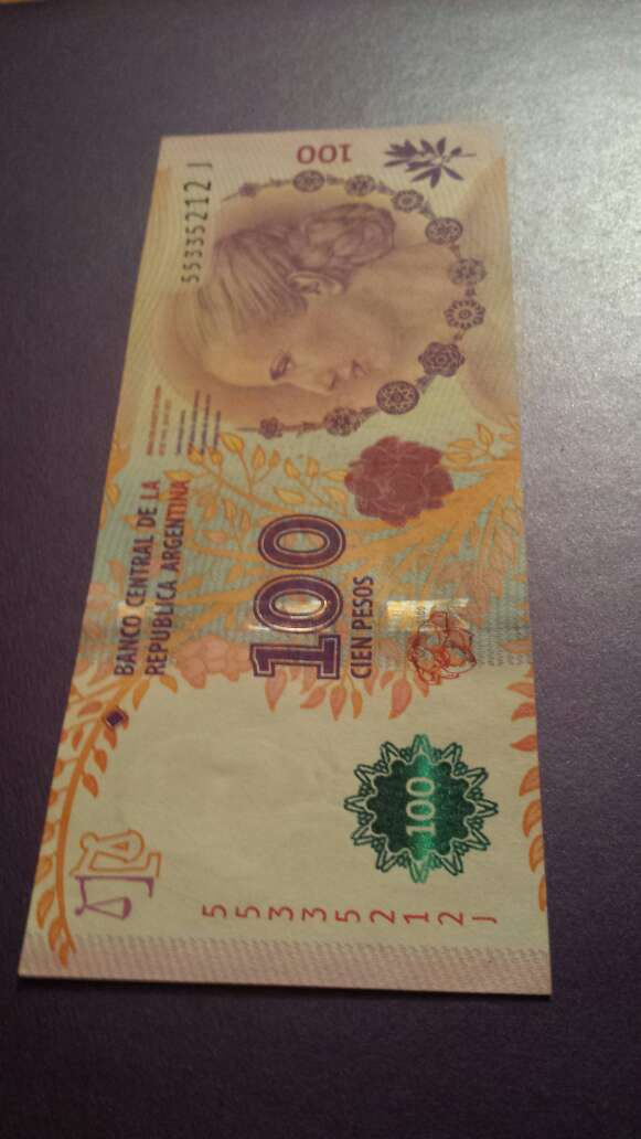 Imagen producto 100 pesos serie J  2