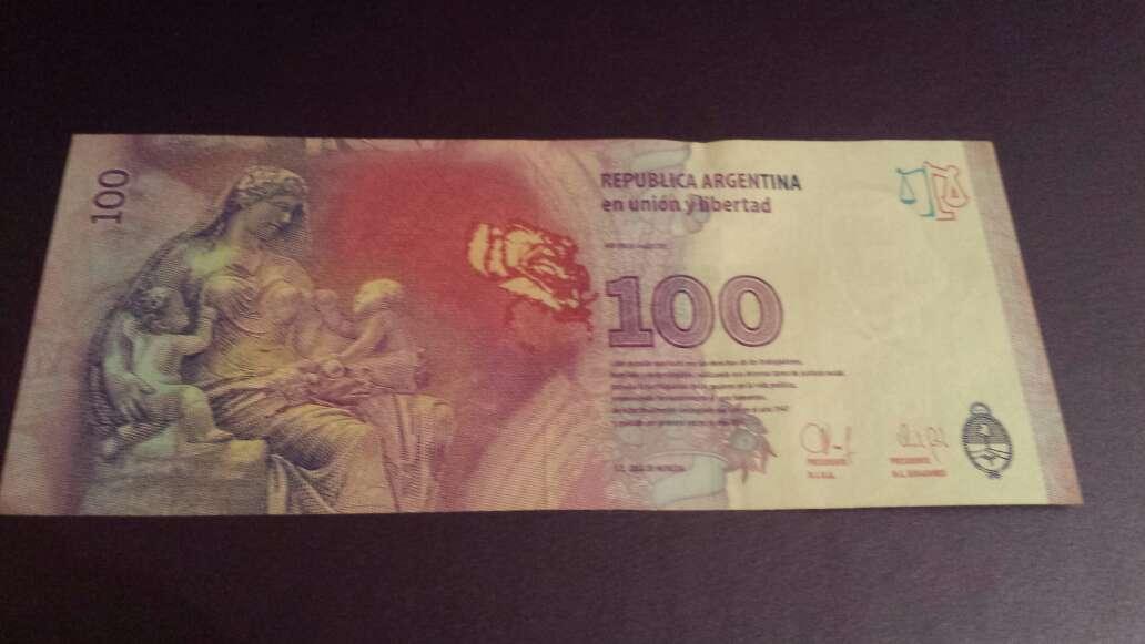 Imagen producto 100 pesos serie J  3