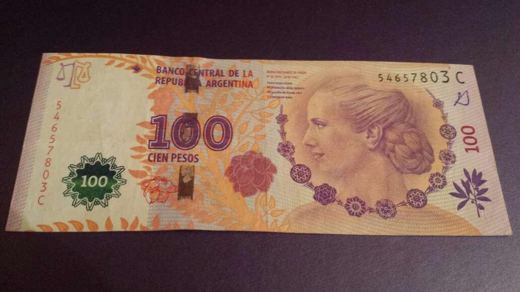 Imagen 100 pesos serie C