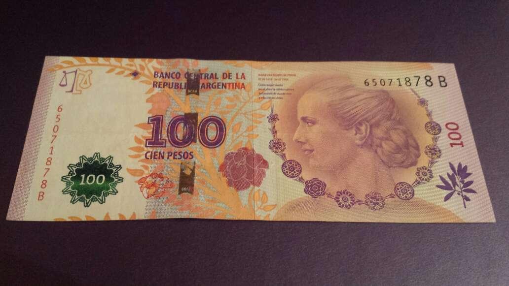 Imagen 100 pesos serie B