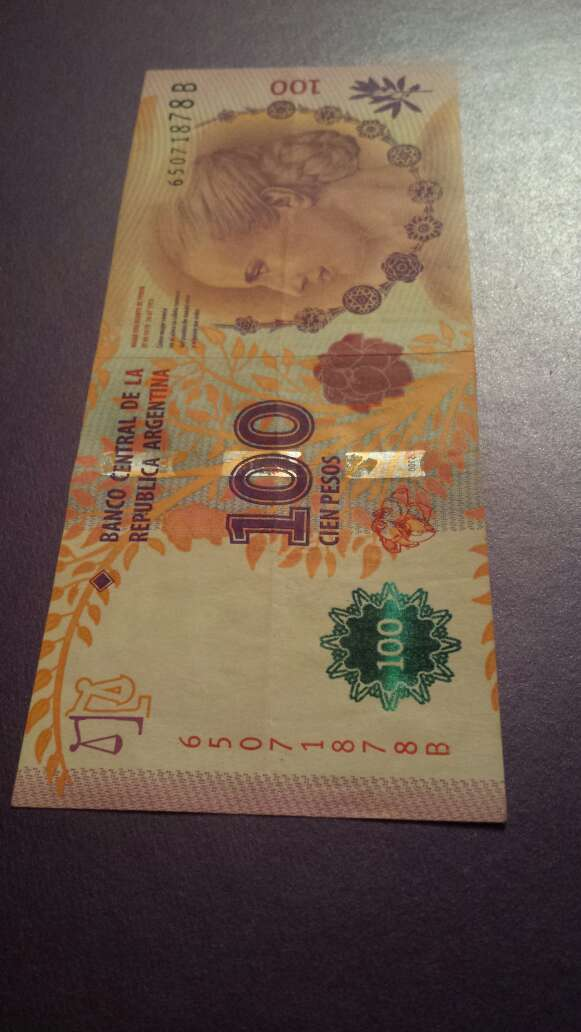 Imagen producto 100 pesos serie B 2