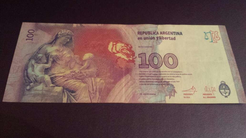 Imagen producto 100 pesos serie B 3