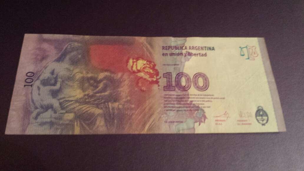 Imagen producto 100 pesos serie A 3